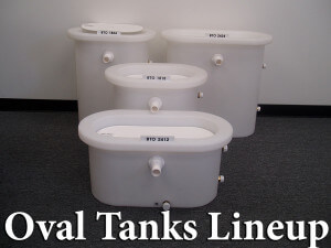 Oval Live Wells in 4 Sizes